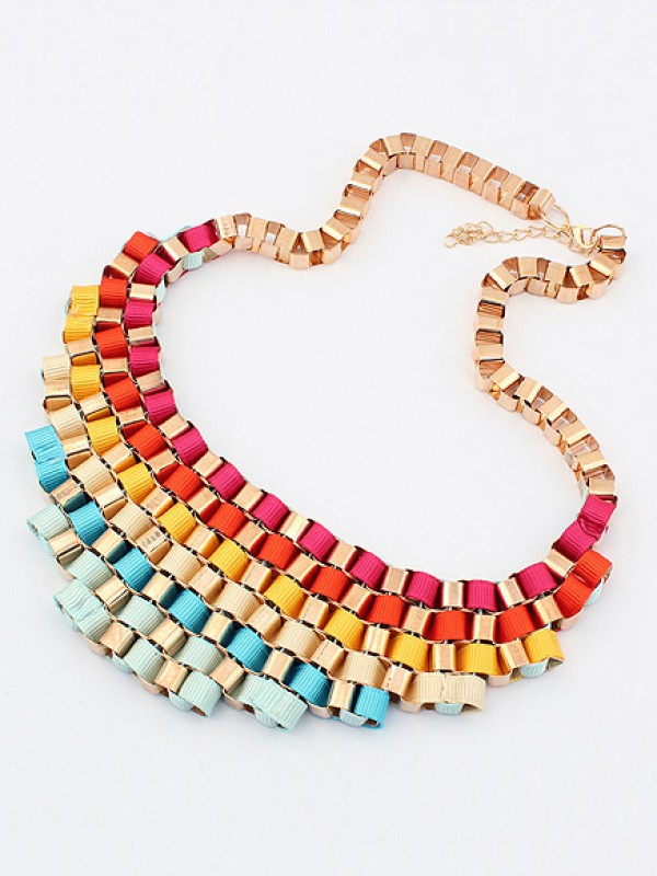 Occident Hyperbolic Colorful Snygg Street shooting All-match Halsband