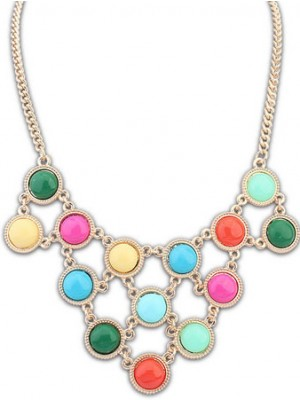 Occident Candy colors Sweet multi-layered Halsband