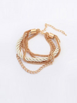 Occident All-match Woven Multi-layered Armband