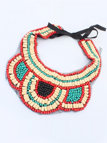 Occident Exotic Personality Retro Halsband-8
