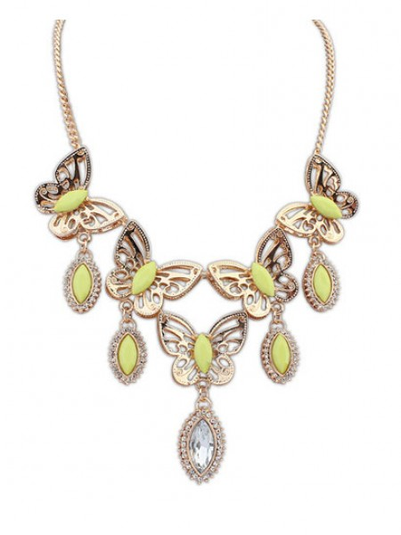 Occident Snygg Butterfly Tears Boutique Halsband