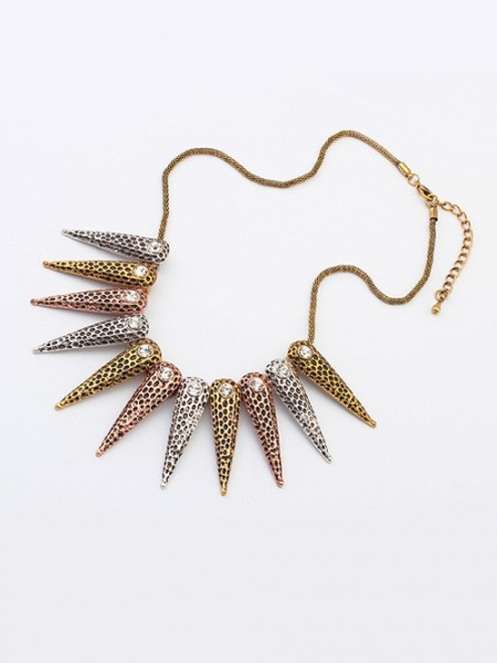 Occident Hyperbolic Exotic Punk Conical Halsband