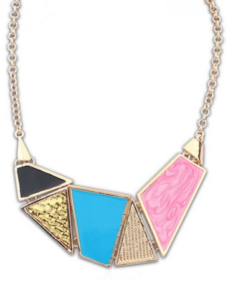 Occident Snygg Street shooting Drop of oil Necklace