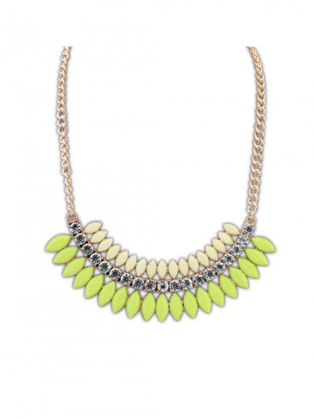 Occident Snygg multi-layered Exquisite all-match Halsband