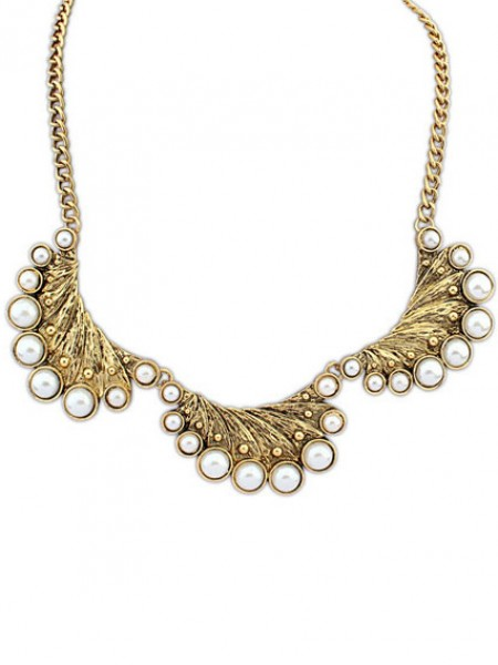 Modern Occident Exotic Retro Peacock Halsband