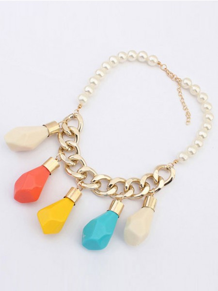 Occident Trendy Street shooting Personality Halsband